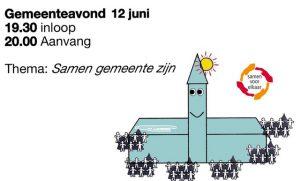 Gemeenteavond @ De Hoeksteen