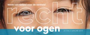 Week van gebed rond het thema 'Recht voor ogen' @ De Hoeksteen